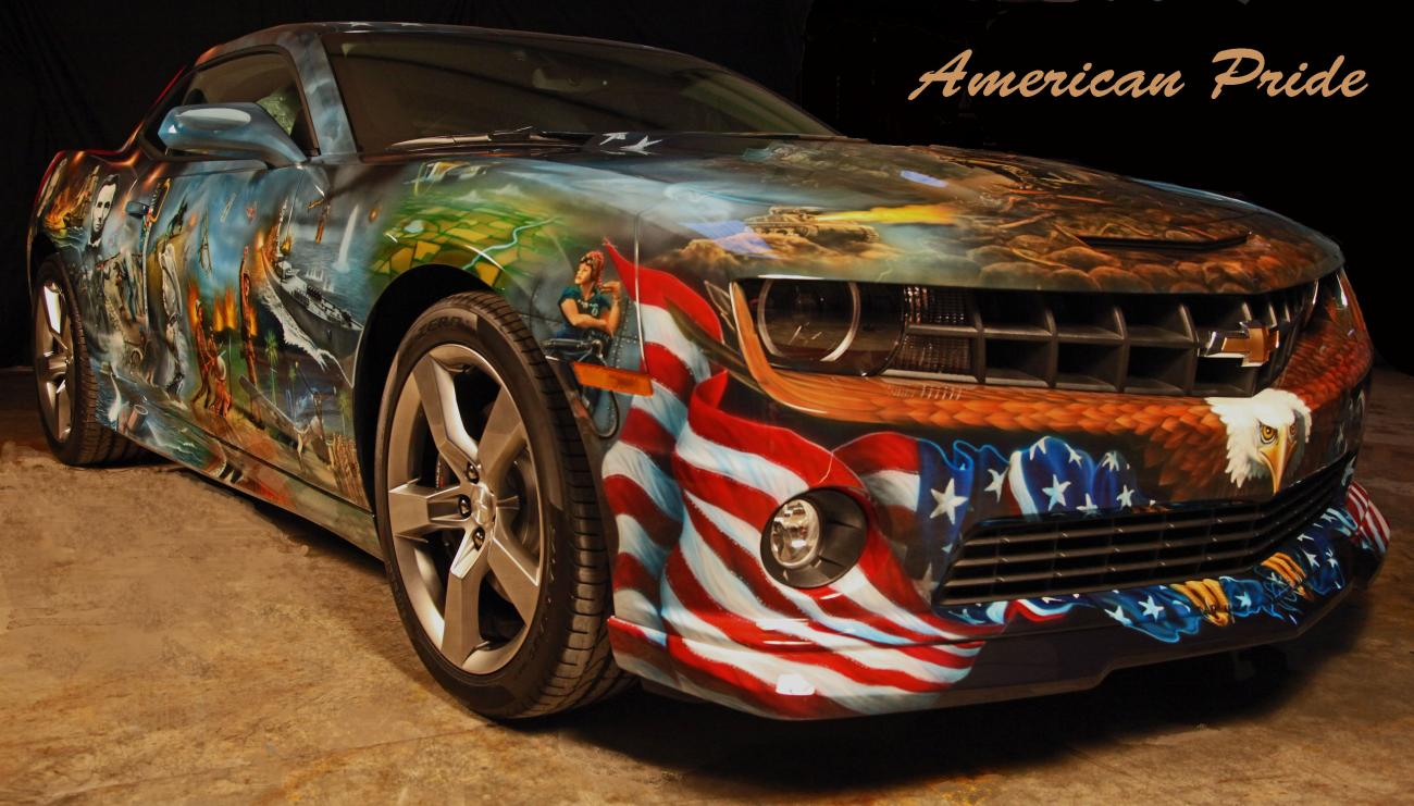 Mickey harris mickey harris art sata airbrush for American classic customs